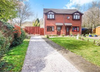Thumbnail 2 bed semi-detached house for sale in Cil Y Coed, Ruabon
