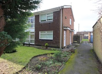 Thumbnail 2 bedroom flat to rent in Aidan Close, Wideopen, Newcastle Upon Tyne