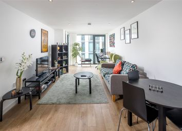Thumbnail 1 bed flat for sale in Lapwing Heights, Waterside Way, London