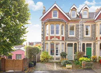 Thumbnail 5 bed end terrace house for sale in Julius Road, Bishopston, Bristol
