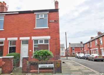 Thumbnail 2 bed end terrace house for sale in Garrick Grove, Blackpool