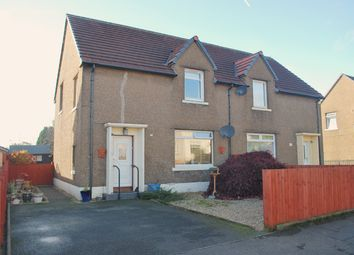 Thumbnail 3 bed semi-detached house for sale in Dundarroch Street, Larbert