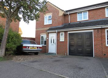 Thumbnail 3 bed semi-detached house for sale in Acacia Close, Sleaford