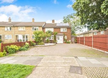 Thumbnail 4 bed end terrace house for sale in Popple Way, Stevenage, Hertfordshire, England