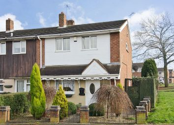 Thumbnail 2 bedroom semi-detached house for sale in Ashbourne Road, Walsall