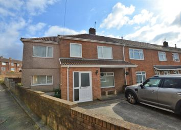 Thumbnail 4 bed end terrace house for sale in Ashgrove, Llanharry, Pontyclun