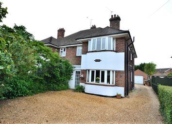 Thumbnail 4 bedroom semi-detached house for sale in Driftway, Wootton Road, South Wootton, King's Lynn