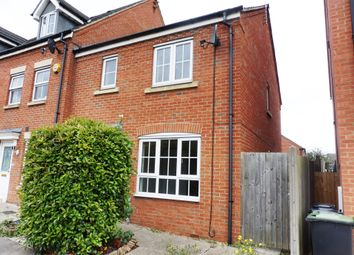 Thumbnail 3 bed end terrace house for sale in Midland Road, Thrapston, Kettering