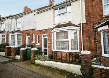 Thumbnail 3 bed terraced house for sale in Garden Road, Folkestone, Kent