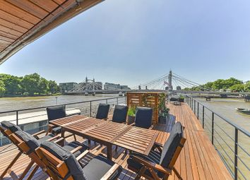 Thumbnail 4 bed houseboat for sale in Cadogan Pier, Chelsea