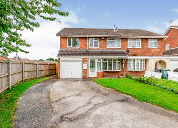 Thumbnail 4 bedroom semi-detached house for sale in Calstock Road, Willenhall