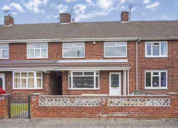 Thumbnail 3 bed terraced house for sale in Taunton Way, Scartho