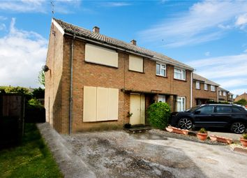 Thumbnail 3 bed semi-detached house for sale in Northfield Road, Ruskington, Sleaford, Lincolnshire