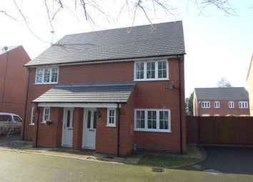 Thumbnail 3 bed semi-detached house for sale in Ash Drive, Ashby-De-La-Zouch