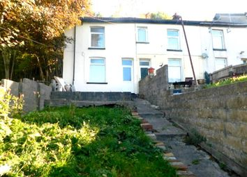 Thumbnail 2 bedroom end terrace house for sale in Wengraig Road, Trealaw, Rhondda