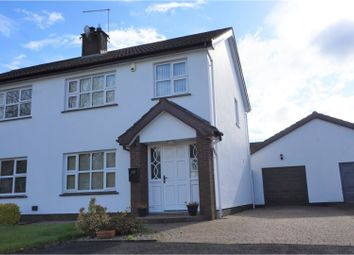 Thumbnail 3 bed semi-detached house for sale in Gracefield, Ballymena