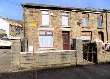 Thumbnail 3 bed end terrace house for sale in Park Road, Treorchy, Rhondda, Cynon, Taff.