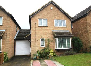 Thumbnail 4 bedroom link-detached house for sale in Kestrel Way, Luton