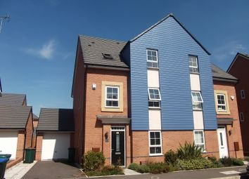 Thumbnail 4 bedroom semi-detached house to rent in Canal View, Coventry