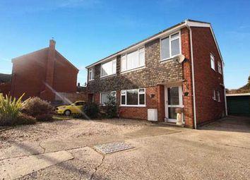 Thumbnail 3 bedroom semi-detached house for sale in Leggatt Drive, Bramford, Ipswich