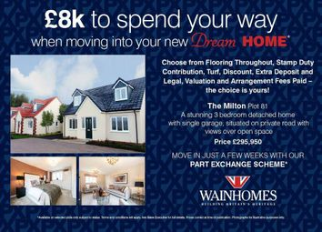 Thumbnail 3 bed detached house for sale in Sea King Close, Bickington, Barnstaple