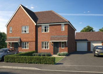 Thumbnail 3 bed semi-detached house for sale in Maple Fields, Gilbert White Way, Alton, Hampshire