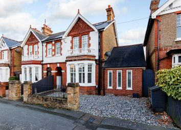 Thumbnail 5 bed semi-detached house for sale in Kings Road, Walton-On-Thames