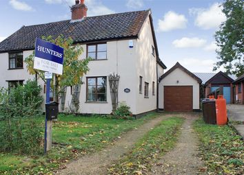 Thumbnail 3 bedroom cottage for sale in Topcroft Street, Topcroft, Bungay