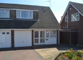 Thumbnail 3 bed semi-detached house for sale in Hoylake Drive, Northampton