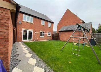 Thumbnail Detached house to rent in Saxby Drive, Syston, Leicester