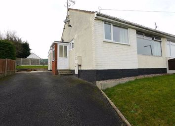 Thumbnail 2 bed semi-detached bungalow to rent in West View, Buckley, Flintshire
