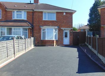 Thumbnail 3 bed semi-detached house to rent in Lockton Road, Birmingham