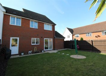 3 bed link-detached house for sale in Osprey Drive, Stowmarket IP14