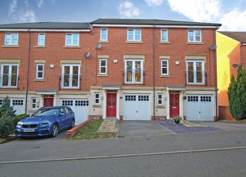 Thumbnail 3 bed town house to rent in Highfields Park Drive, Derby
