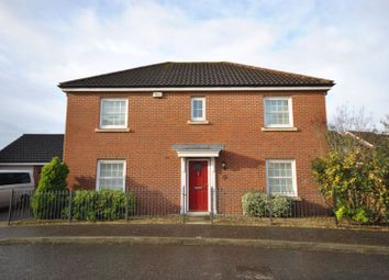 Thumbnail 4 bed detached house for sale in Mountbatten Drive, Old Catton, Norwich