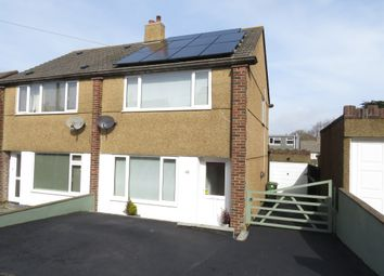 Thumbnail 2 bed semi-detached house for sale in Dolphin Square, Plymstock, Plymouth