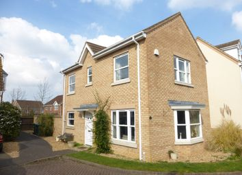 Thumbnail 4 bed detached house for sale in Wolseley Close, Yaxley, Peterborough