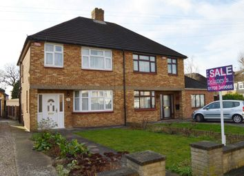 3 bed semi-detached house for sale in Lynross Close, Harold Wood, Romford RM3