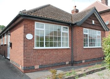 Thumbnail 2 bed bungalow to rent in Greenwich Avenue, Nottingham