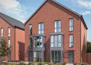 "Thumbnail 4 bed town house for sale in ""The Brockwell A"" at Enfield Road, Gateshead"