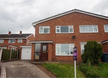 Thumbnail 4 bed semi-detached house for sale in Maple Drive, Shrewsbury