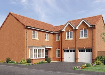 "Thumbnail 5 bedroom detached house for sale in ""Shakespeare"" at Leeds Road, Thorpe Willoughby, Selby"