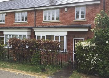 Thumbnail 3 bed terraced house to rent in Chambers Walk, Stanmore, Middlesex
