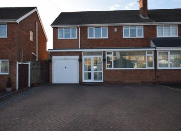 Thumbnail 4 bed semi-detached house for sale in Poplar Road, Dorridge, Solihull