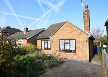 Thumbnail 2 bed detached bungalow for sale in New Street, Swanwick, Alfreton, Derbyshire