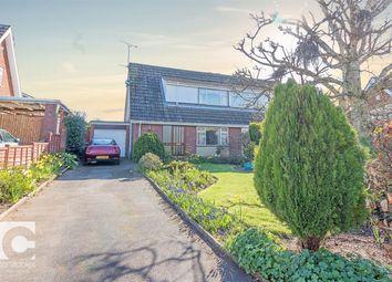 Thumbnail 3 bed semi-detached house for sale in Rockfarm Close, Little Neston, Neston, Cheshire