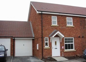 Thumbnail 2 bed semi-detached house to rent in Bilberry Gardens, Mortimer, Reading