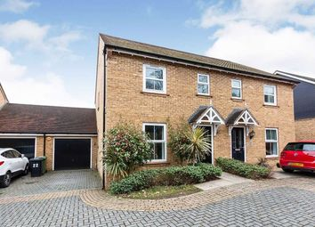 Thumbnail 3 bed semi-detached house to rent in Cufaude Lane, Sherfield-On-Loddon, Hook