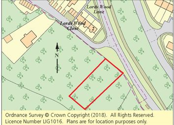 Thumbnail Property for sale in Parcel Of Woodland, Lords Wood Close, Chatham, Kent