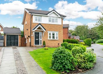 Thumbnail 3 bed detached house for sale in Ashbrook Avenue, Sutton Weaver, Runcorn